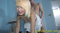 asian blond anal Bugger