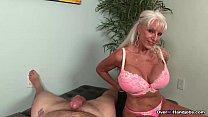 over-granny loves jerking cocks