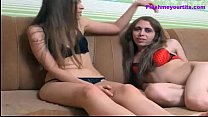 girlfriend her with fucked gets and fucks Transsexual