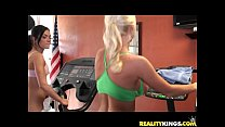 Molly Cavalli and her girl getting nasty at the...