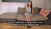 FakeAgentUK Hot tattood minx fooled into fake s...
