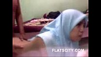 cute hijabi babe giving handjob to her BF and fucked in doggy - Bokep Porn