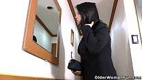 Русская мама дает своему сыну видео