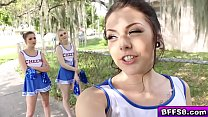 coach horny their with fuck group cheerleaders hot porristas