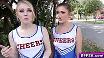 Hot Cheerleaders Group Fuck With Their Horny Coach