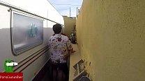 spycamgui023 voyeur con público en calle la en follar. de rincón el en Castigada