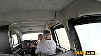 Big tits passenger pussy licked and railed by f...
