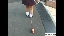 Bizarre JAV enema walk of shame for schoolgirl ...