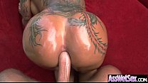 Anal Bang On Cam With Big Ass Oiled Girl (bella...