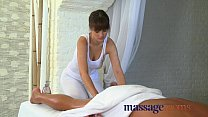 Massage Rooms Big cock therapy by masseuse with...