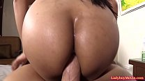 Ladyboy Judy On Huge Raw Dick
