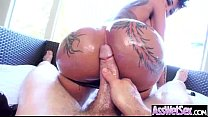Hard Anal Sex With Big Luscious Butt Girl (bell...