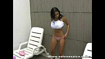 pool in striptease spice)- (selena rincon Andrea