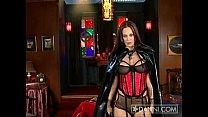 vampire striptease