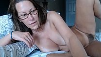 Trixxxcams.com - Milf squirts after fingering h...