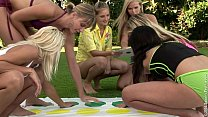 Twister Orgy by Sapphic Erotica - Lesbian sex a...