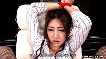Asian teacher gets punished for her being naughty