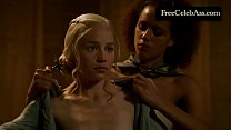 2013 s03e08 thrones of game bath the in nude clarke Emilia