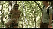 forest the in caught gays of Couple