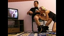 chair on fucking blonde Amateur