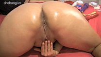 Dani ONeal Sticking Her Finger In Her Ass