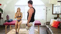 wife cheats on her husband with the masseur eric masterson alix lynx