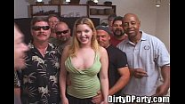 Candi Apple Comes to Play With The Tampa Bukkake Crew! - download porn videos