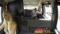 FemaleFakeTaxi Creampie from black guy, cheatin...