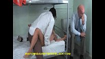Dad sees daughter fucks black