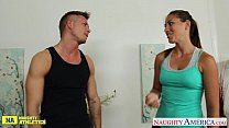 Sexy athlete babe Rilynn Rae gets fucked