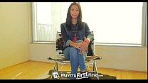 MyVeryFirstTime - Nervous Jade Jantzen has her first DP on camera porn videos