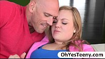 Big rack teen Summer loves guy with a big cock ...