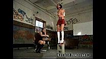Schoolgirl Gets a BDSM Punishment!