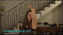Wild czech teen Monika does sexy strip and lapdance porn videos