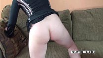 gianna in a black dress and getting dicked