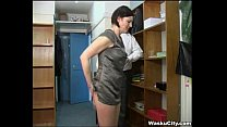 british girl thieving girl gets spanked by boss