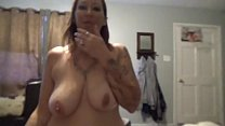 Hot wife Angie Michelle comes home to fuck her ...