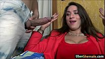 busty latin shemale adriana rodrigues cums whil… – Free Porn Video