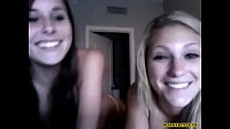 Two naughty girls on web cam - www.pornfactor.tv porn videos
