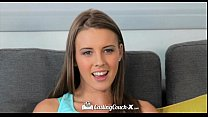 CastingCouch-X - Beautiful Lia Ezra with natura...