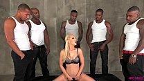 Ashley Fires loving 5 big black cocks thumbnail