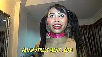 Asian Strumpet Plays The Trumpet