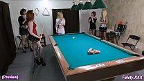 cute billiards 10min preview – feisty.xxx