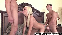 AdultMemberZone - Young Kendra Fucked by 2 Studs thumb