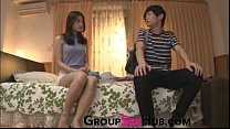 Mom has feelings for her son at GroupSexHub.com...