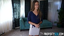 house sell to camera on fucks agents estate real desperate - sex Property