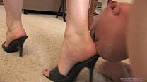 Worshiping Megan's Divine Feet - Femdom foot fe...