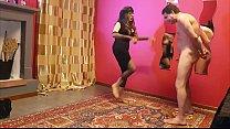 Ballbusting: Lady Agata prende a calci nei cogl... thumb