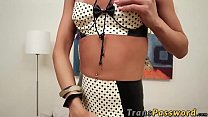 action solo hot in enjoys voguel shakira shemale Blonde
