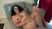 cunt hungry her rubs parsons nicolette milf American